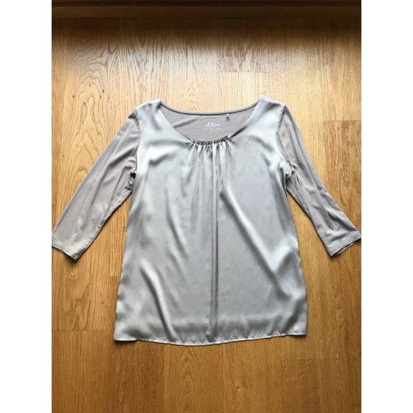Glänzendes Shirt von s Oliver Größe 38