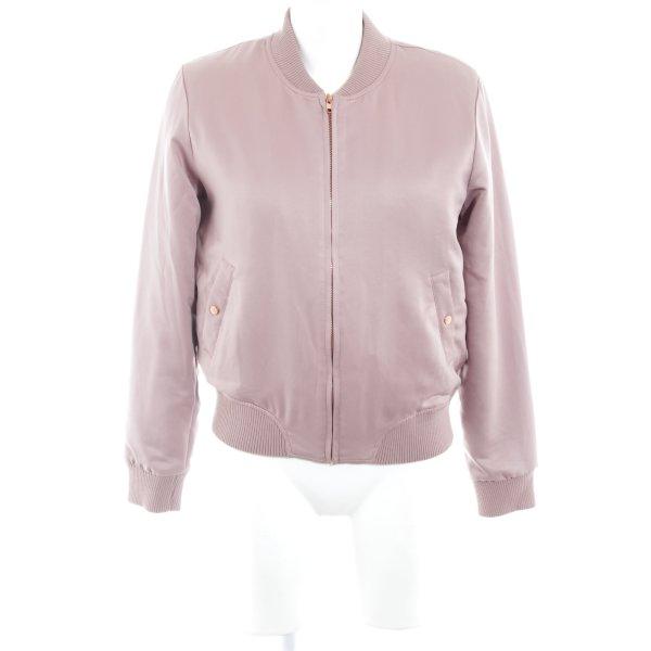 Glamorous Bomberjacke blasslila-roségoldfarben Casual-Look