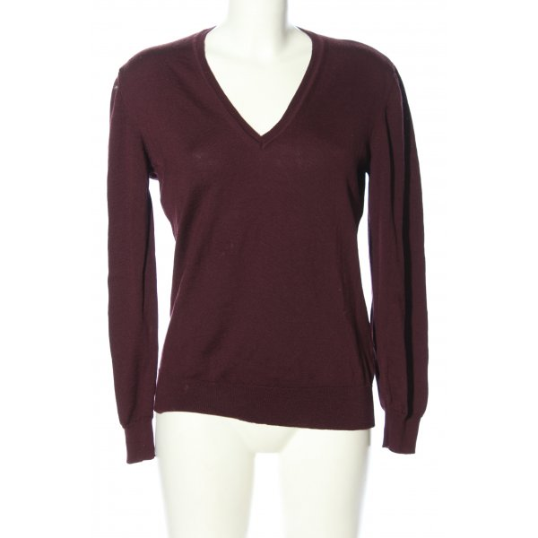 GLENFIELD Wollpullover lila Casual-Look