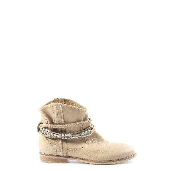 Görtz Shoes Schlüpfschuhe wollweiß Casual-Look