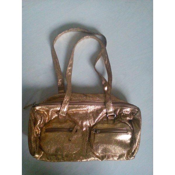 Goldene Handtasche von Aldo