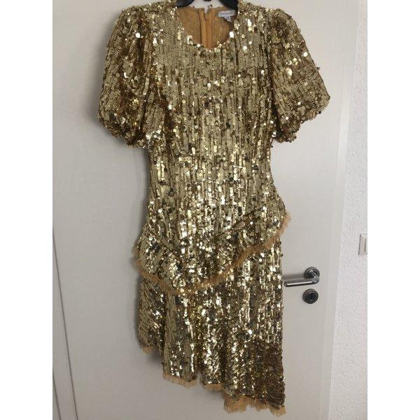 Goldenes Paillettenkleid von Topshop