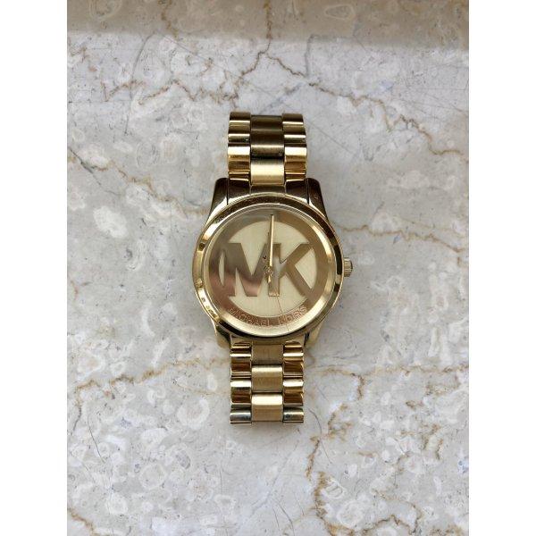 Goldfarbene Michael Kors Uhr