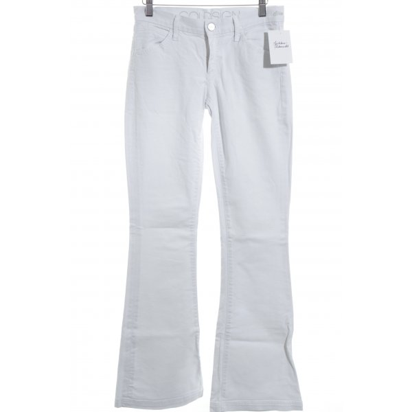 Goldsign Boot Cut Jeans weiß Casual-Look