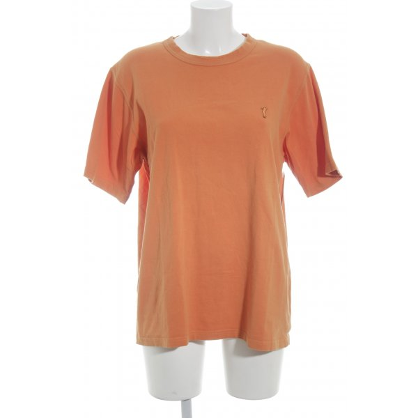 Golfino T-Shirt orange schlichter Stil