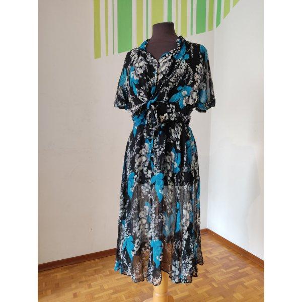 Gr. 38/40 Kleid mit floralem Muster,
