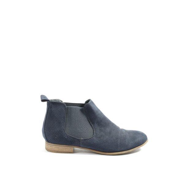 Graceland Booties blau Casual-Look