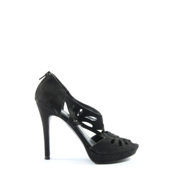 Graceland High Heel Sandaletten schwarz Elegant