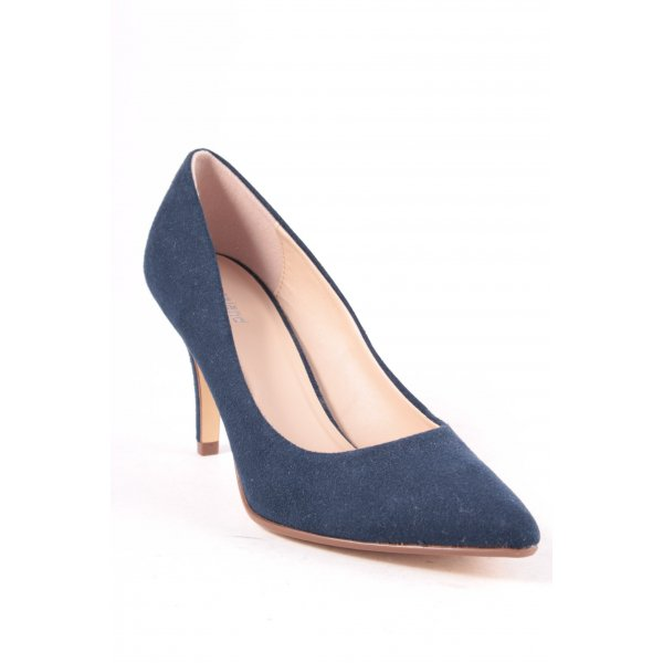 Graceland Spitz-Pumps blau Elegant