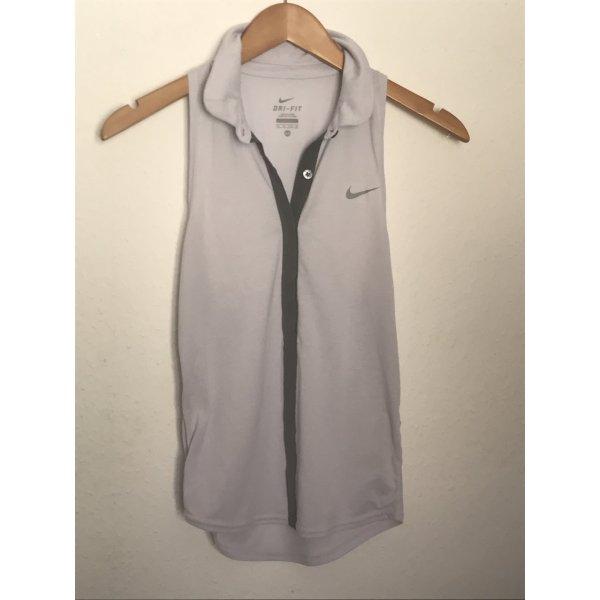 Graublaues Nike Top Dri-Fit
