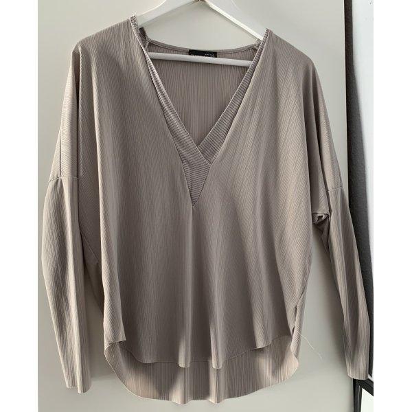 Graue Bluse in S von Zara