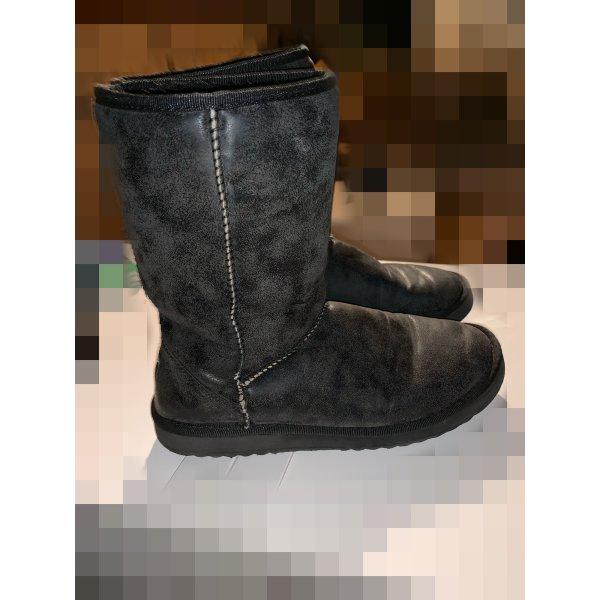 Graue Esprit Boots