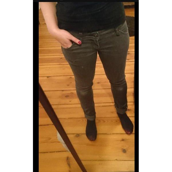 Graue Skinny low waist Jeans Freesoul W29/L32