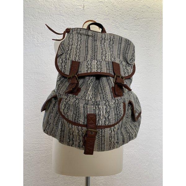 Großer Rucksack mit Aztekenmuster