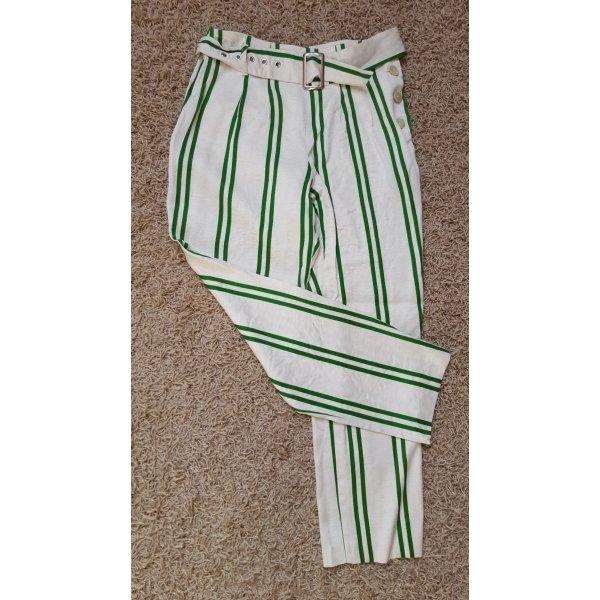 Grün gestreifte Hose