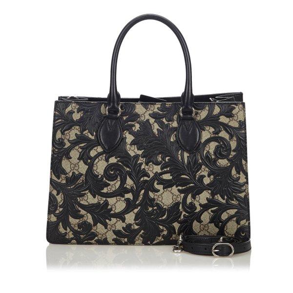 Gucci Arabesque GG Supreme Handbag