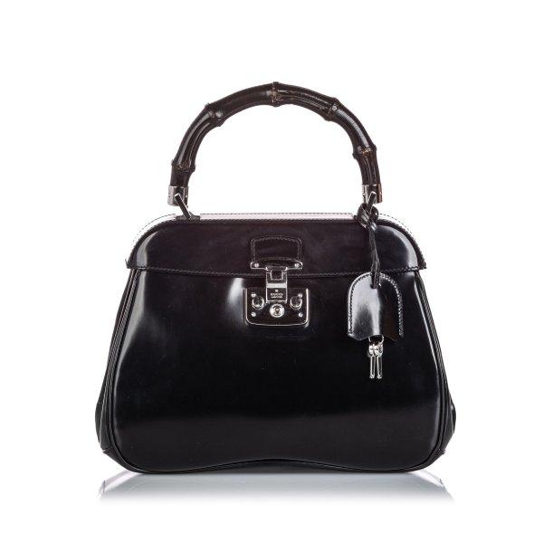 Gucci Bamboo Leather Lady Lock