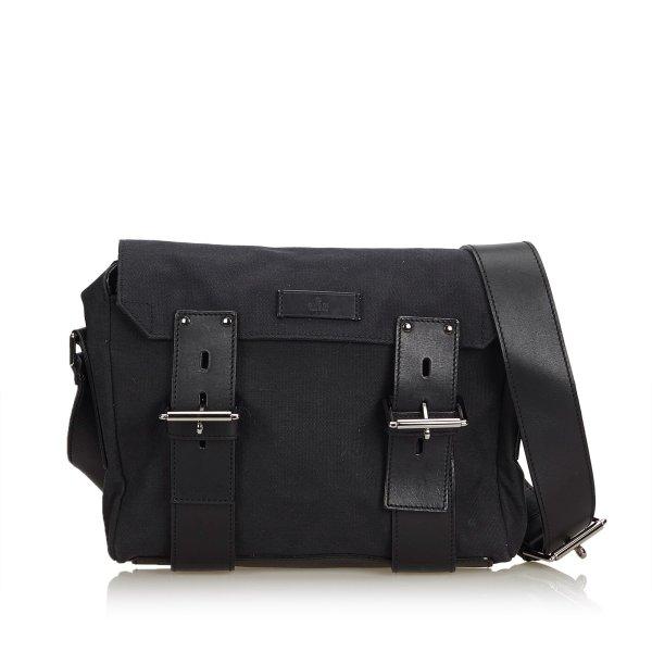 Gucci Canvas Messenger Bag