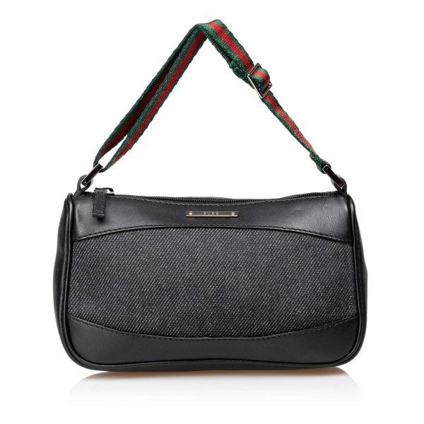 Gucci Canvas Web Strap Handbag