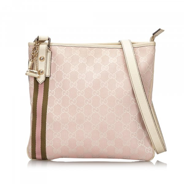 Gucci GG Canvas Jolicoeur Crossbody Bag