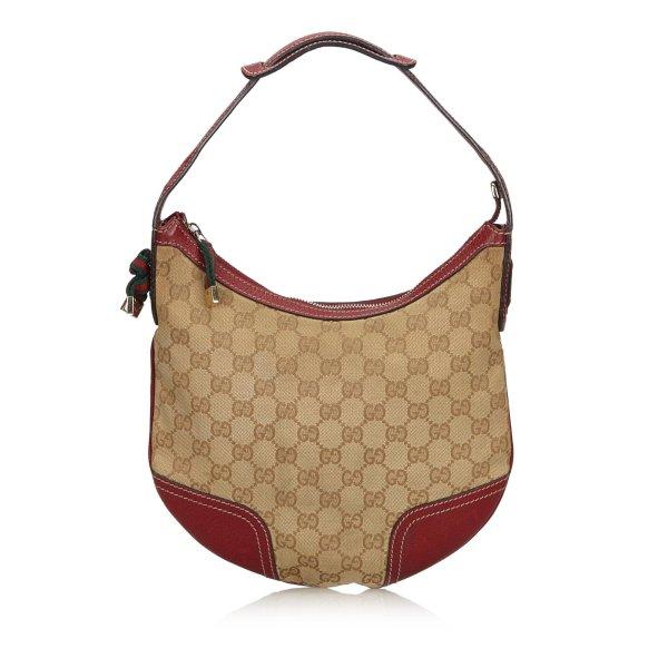 Gucci GG Canvas Web Princy Shoulder Bag