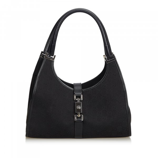 Gucci Guccissima Canvas Jackie Shoulder Bag