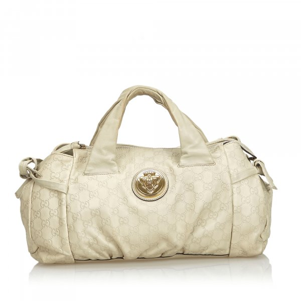 Gucci Guccissima Leather Hysteria Handbag