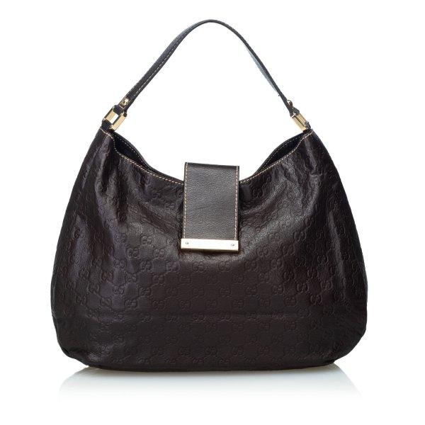 Gucci Guccissima Leather New Ladies Hobo Bag