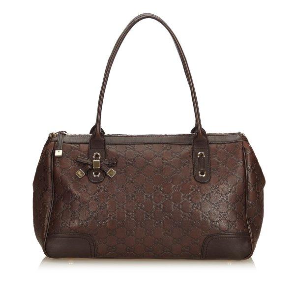 Gucci Guccissima Leather Princy Handbag