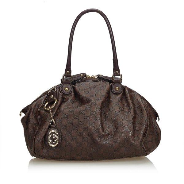 Gucci Guccissima Leather Sukey Bag