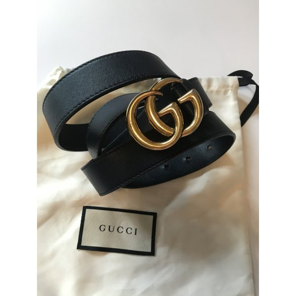 Gucci Gürtel GG / Leder