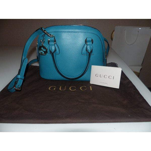 GUCCI Handtasche Blau (Azur)