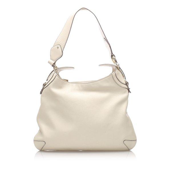 Gucci Horsebit Leather Creole Shoulder Bag