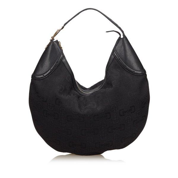 Gucci Jacquard Hobo Bag