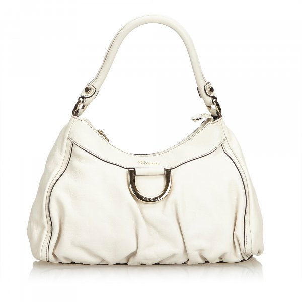 Gucci Leather Abbey D-Ring Handbag