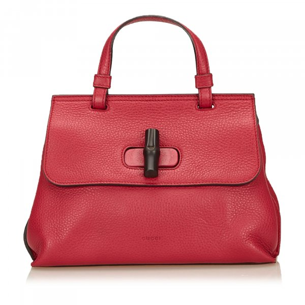 Gucci Leather Bamboo Daily