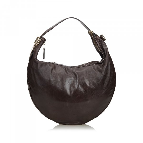 Gucci Leather Duchessa Hobo Bag