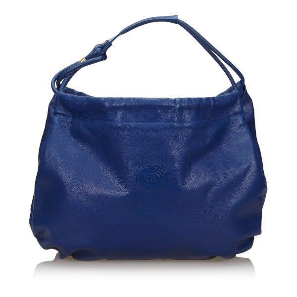 Gucci Leather Hobo Bag