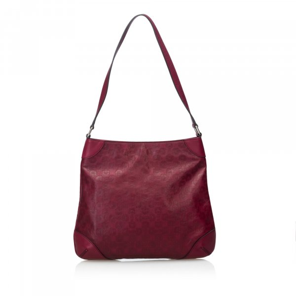 Gucci Leather Horsebit Hobo Bag