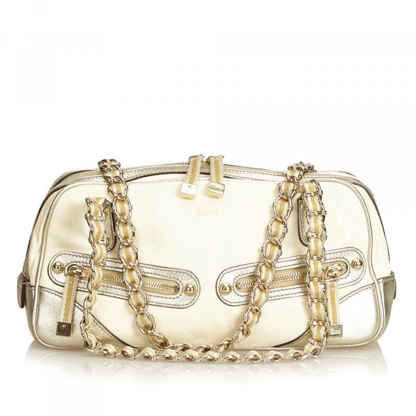 Gucci Leather Princy Shoulder Bag
