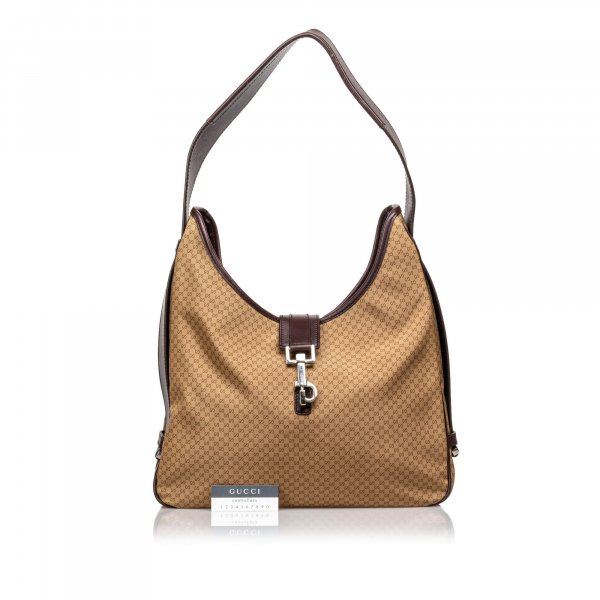 Gucci Micro GG Nylon Shoulder Bag