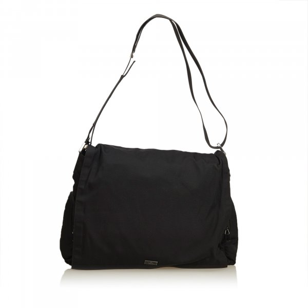 Gucci Nylon Messenger Bag