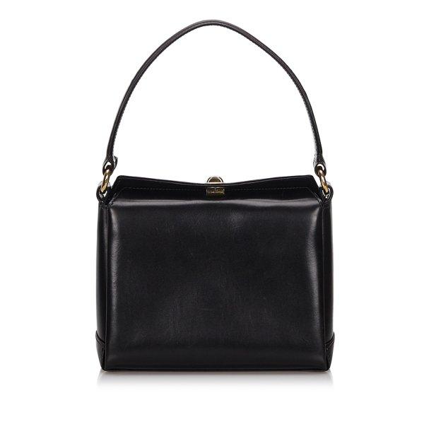 Gucci Old Gucci Leather Handbag