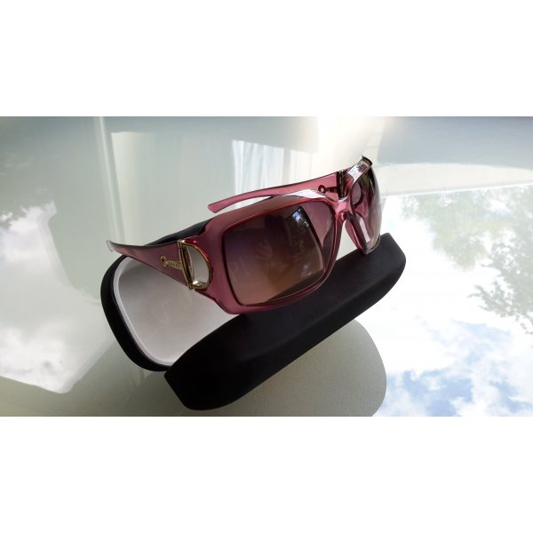 *GUCCI* Sonnenbrille lila/silber