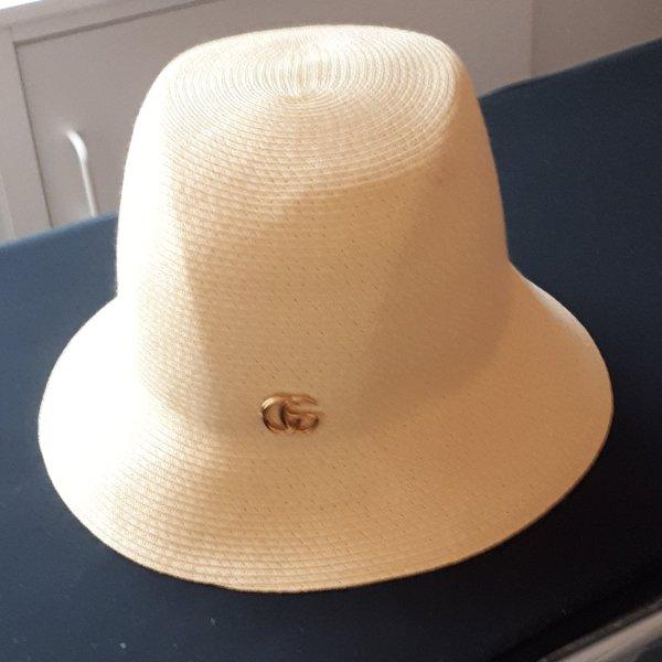 Gucci Chapeau de paille crème