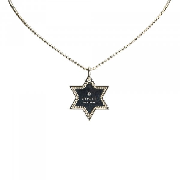 Gucci Star Dog Tag Necklace