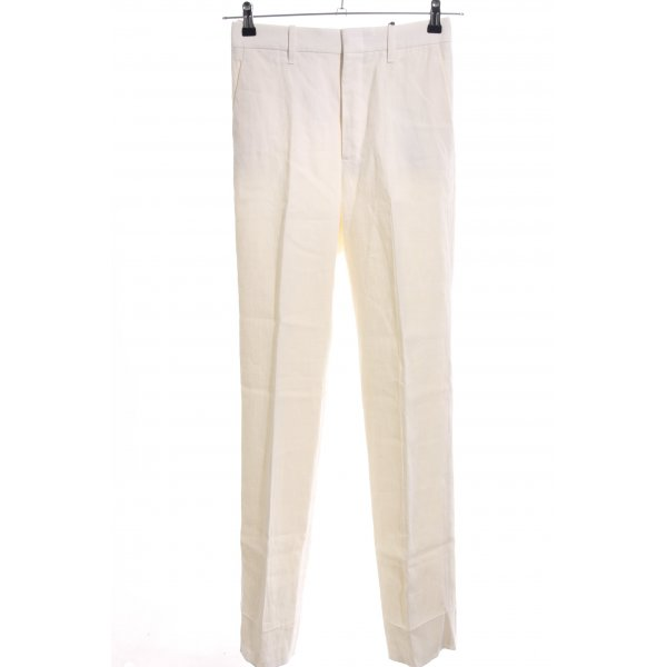 Gucci Stoffhose creme Business-Look