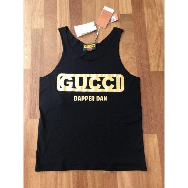 Gucci T- Shirt Limited Edition schwarz/ Gold  - M -