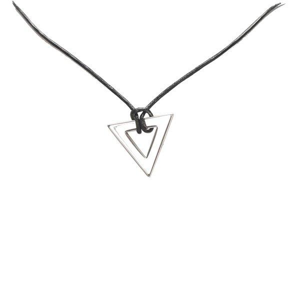Gucci Triangle Pendant Necklace