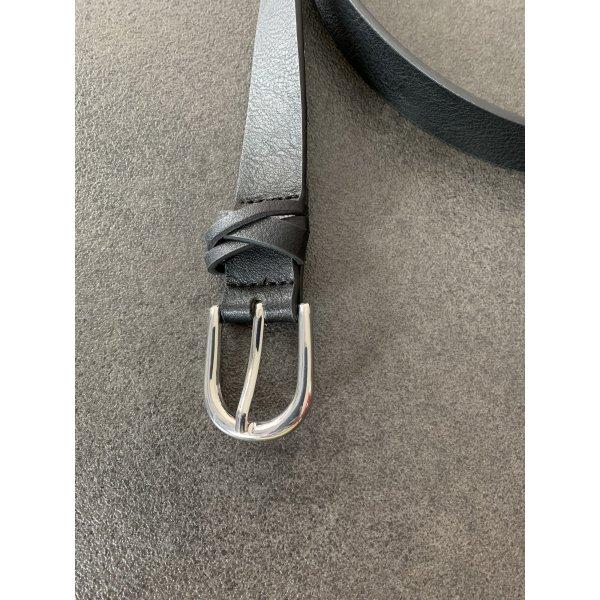C&A Faux Leather Belt black